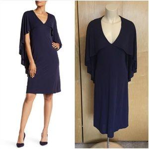 Trina Turk Caped Dress